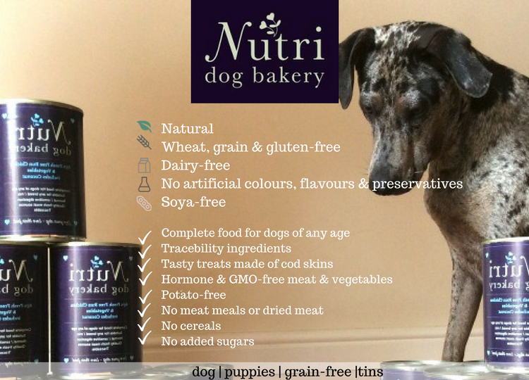 Nutri-dog bakery food summary